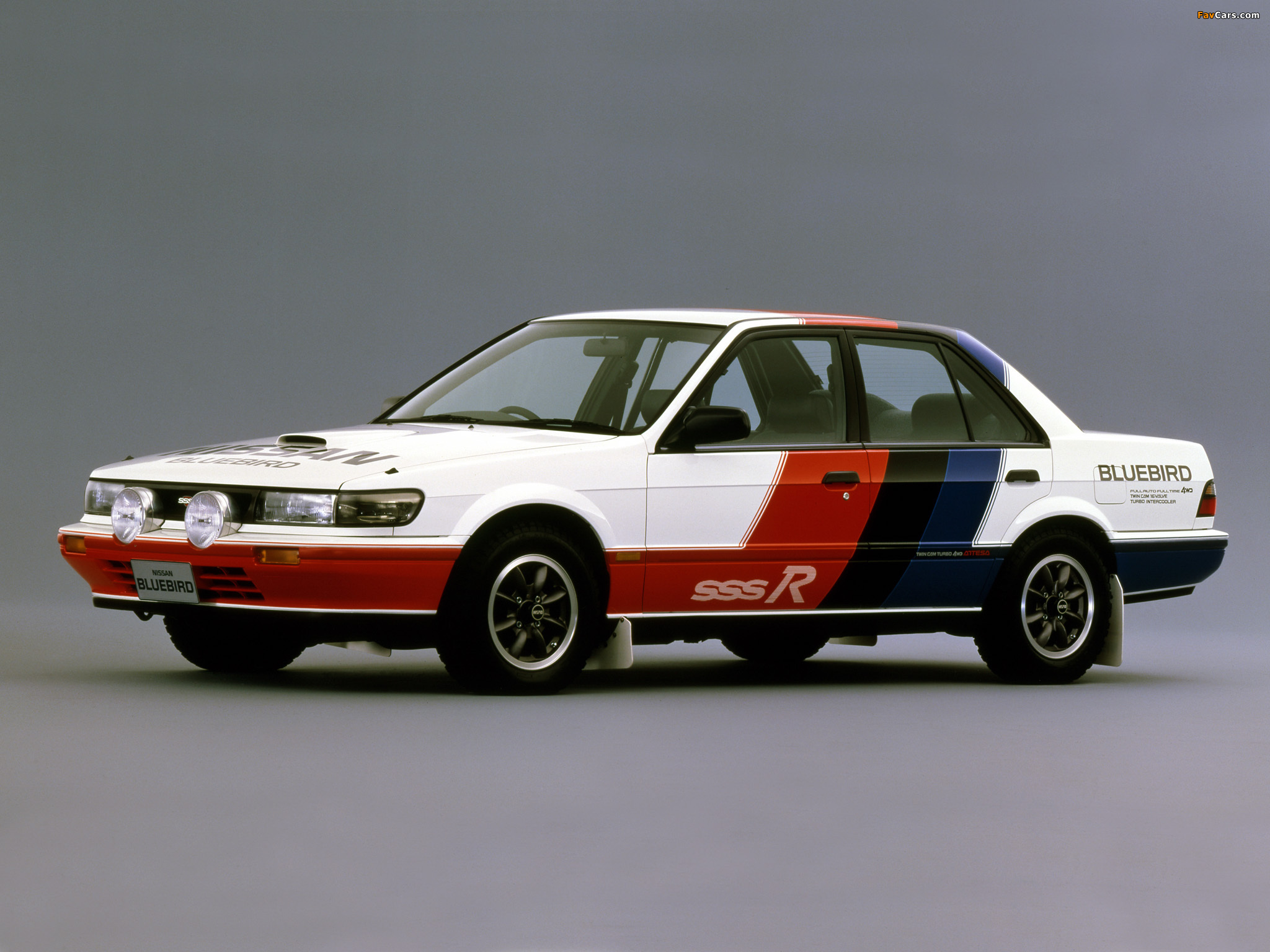 Nissan Bluebird Sss R U12 1987 91 Wallpapers 2048x1536