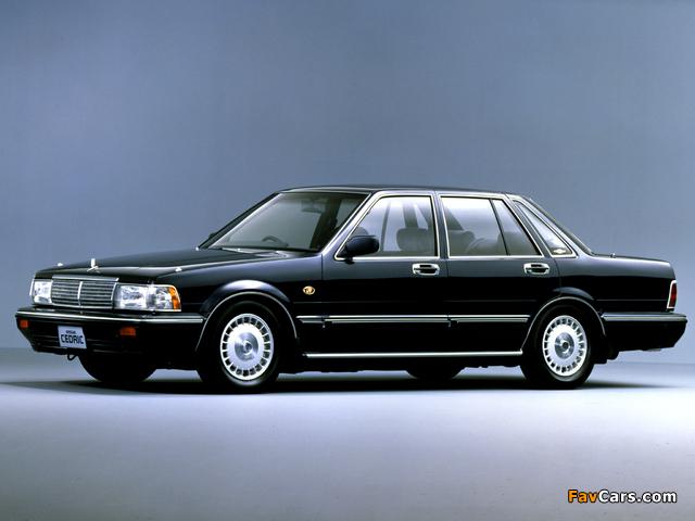 Nissan Cedric Sedan Y31 1987 91 Images 640x480