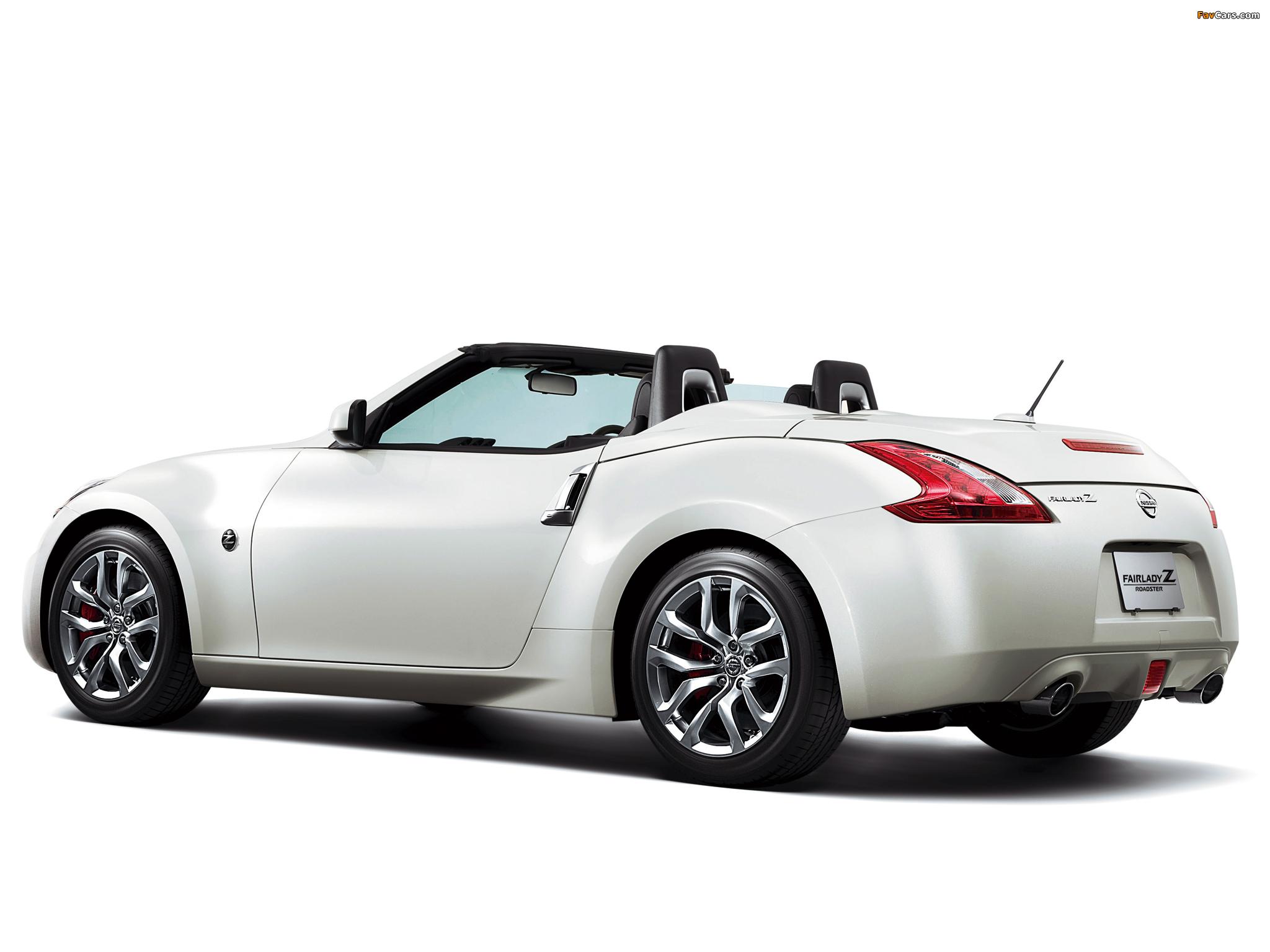 Nissan Fairlady Z >> Nissan Fairlady Z Roadster 2012 pictures (2048x1536)