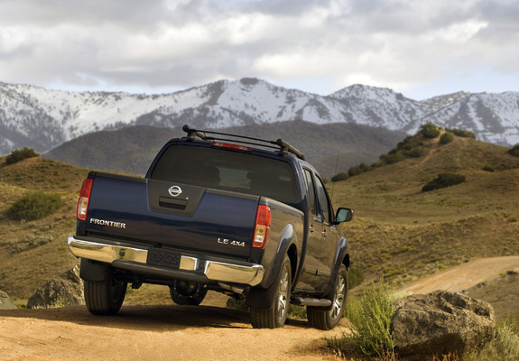 Nissan Frontier Crew Cab >> Images of Nissan Frontier Crew Cab (D40) 2008–09 (2048x1536)