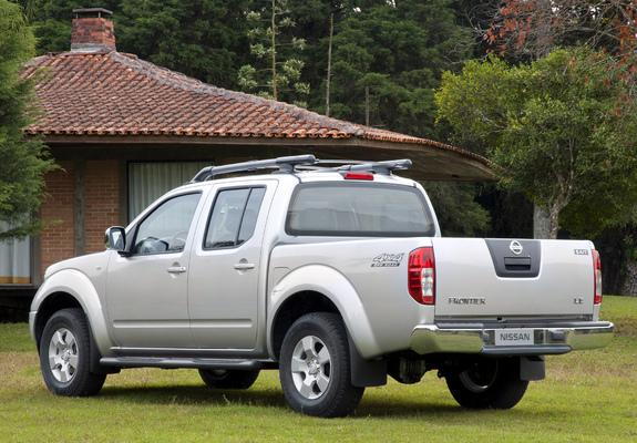 Nissan Frontier Crew Cab >> Nissan Frontier Crew Cab BR-spec (D40) 2008–09 wallpapers ...
