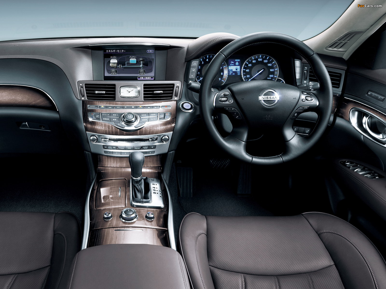 Wallpapers Of Nissan Fuga Hybrid Y51 2011 1600x1200