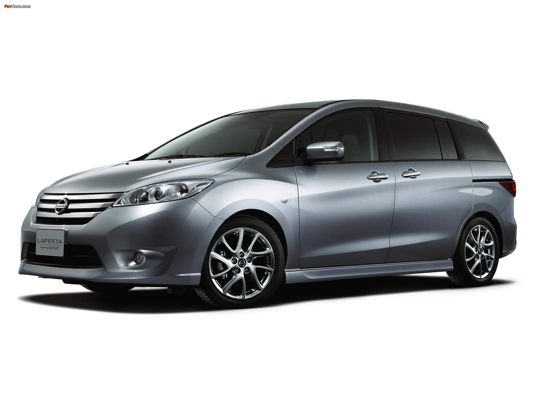 Images Of Nissan Lafesta Highway Star G Supremo B35 2012