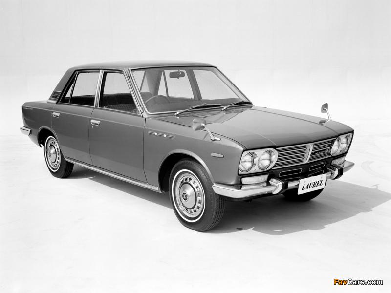 Pictures of Nissan Laurel Sedan (C30) 1968–72 (800 x 600)