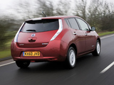 Nissan Leaf UK-spec 2011 wallpapers