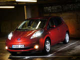 Photos of Nissan Leaf UK-spec 2011