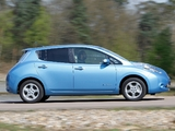 Pictures of Nissan Leaf UK-spec 2011