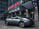 Nissan Leaf US-spec 2013 wallpapers