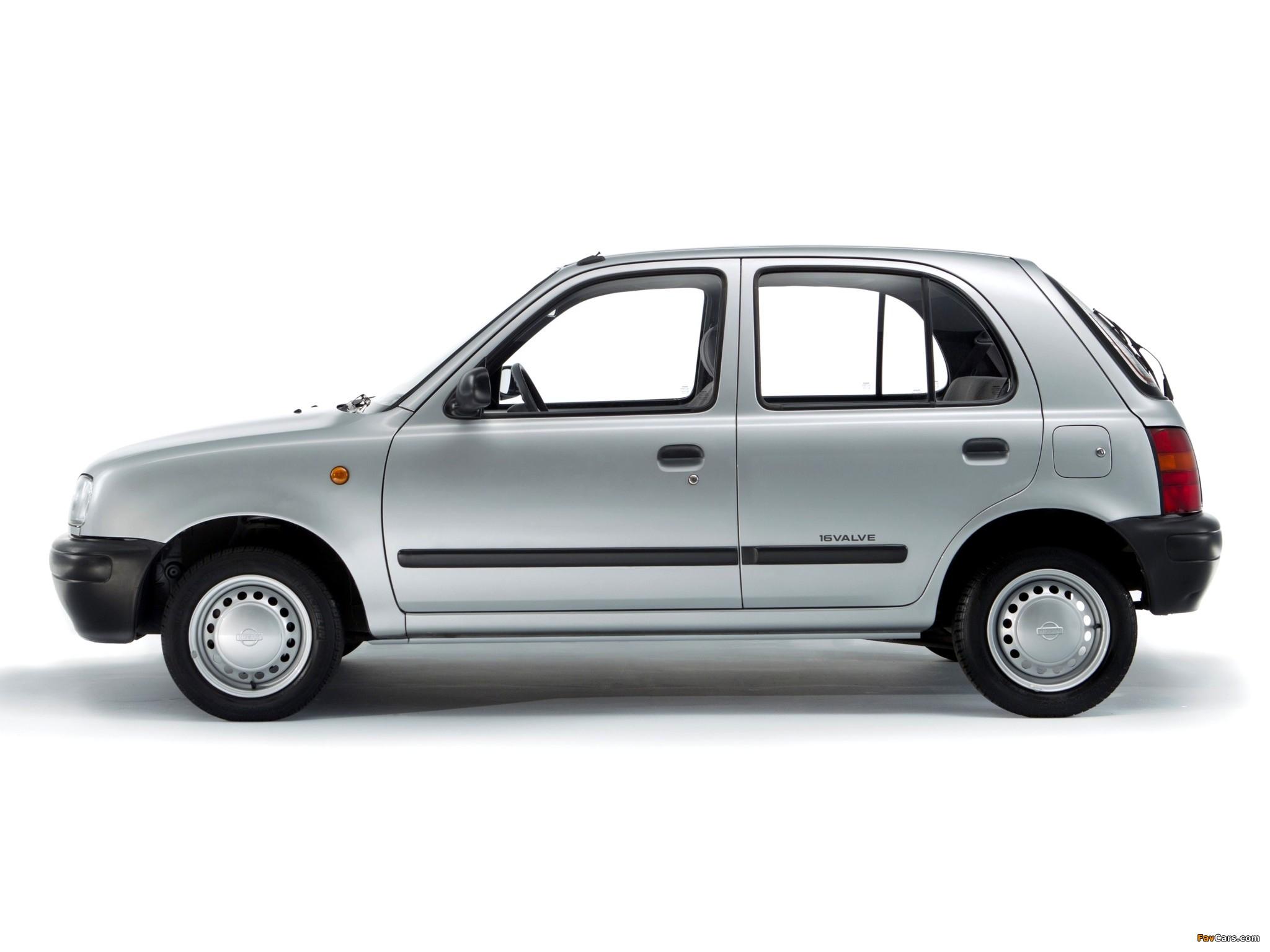 Nissan Micra 5 Door K11 1992 97 Images 2048x1536