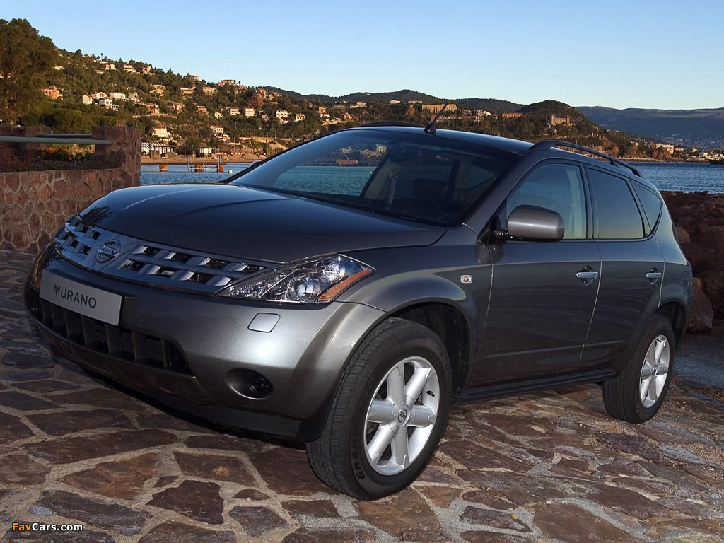 Nissan murano z50 2003 08 images 1024x768