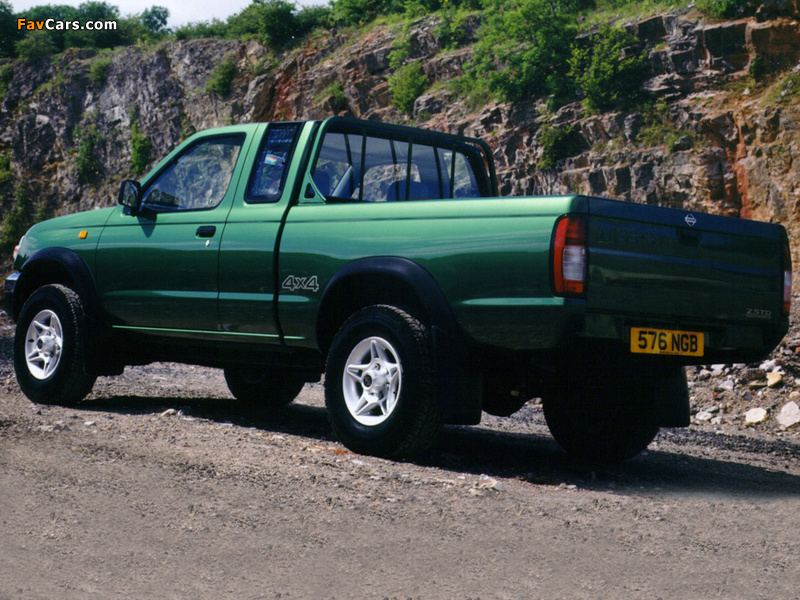 photos of nissan pickup navara king cab uk spec d22 1997 2001 800x600. Black Bedroom Furniture Sets. Home Design Ideas