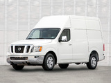 Photos of Nissan NV2500 HD High Roof 2010