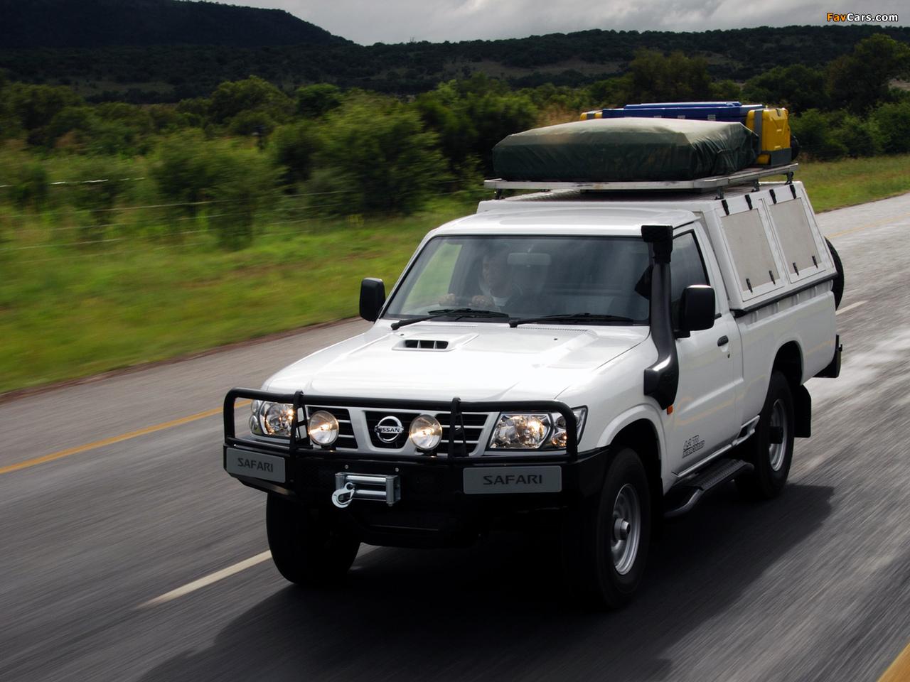 Photos Of Nissan Patrol Safari Pickup Y61 1997 1280x960
