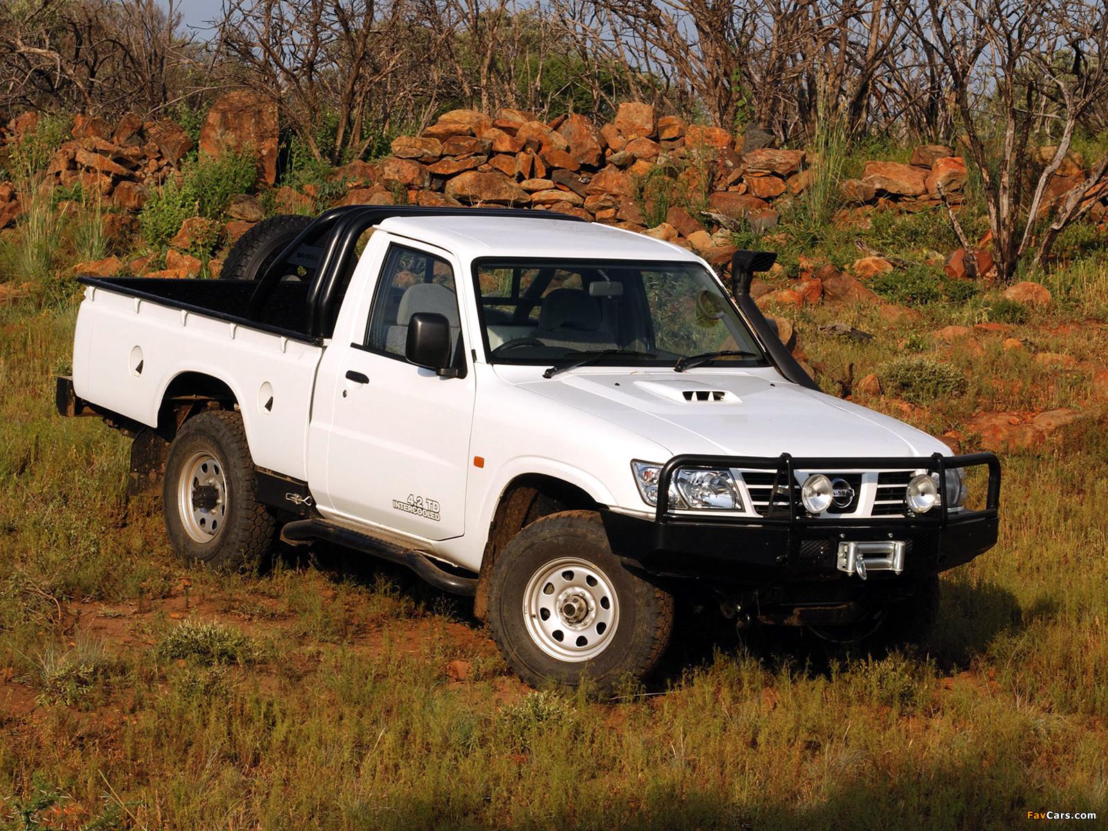 Pictures Of Nissan Patrol Safari Pickup Y61 1997 1600x1200