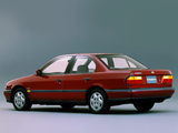 Images of Nissan Primera Sedan JP-spec (P10) 1990–95