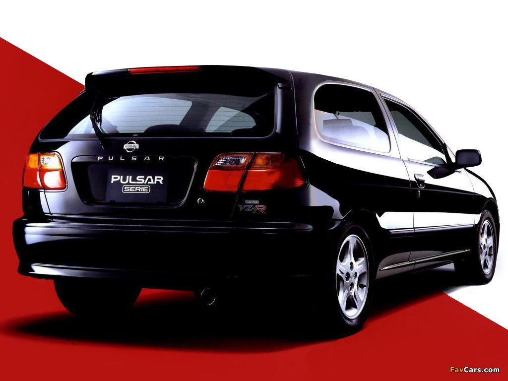 Nissan Pulsar Serie (N15) 1997–2000 wallpapers (1024x768)