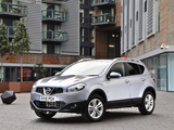 Nissan Qashqai UK-spec 2009 wallpapers