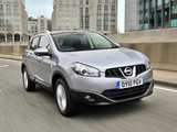 Photos of Nissan Qashqai UK-spec 2009