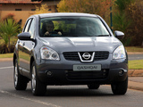 Nissan Qashqai ZA-spec 2007–09 wallpapers