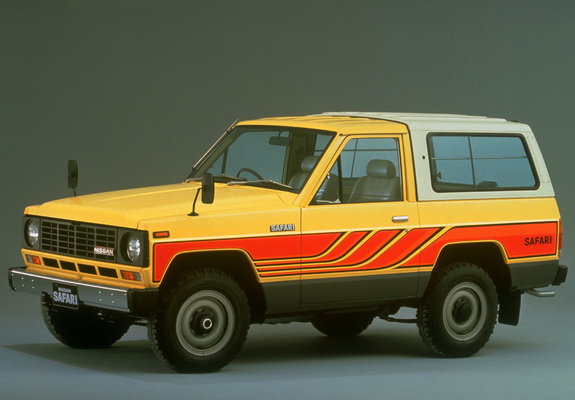 Nissan Safari Hard Top 160 1980 85 Wallpapers 640x480