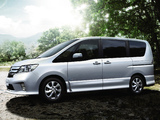 Nissan Serena Highway Star S-Hybrid (C26) 2012 wallpapers