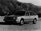 Photos of Nissan Stanza Hatchback US-spec (T12) 1987–88