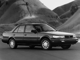 Photos of Nissan Stanza SE (U12) 1992