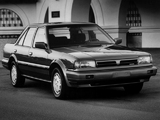 Nissan Stanza Sedan US-spec (T12) 1988–90 wallpapers