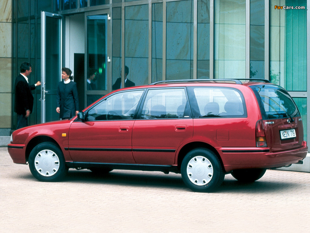 Nissan Sunny Traveller (Y10) 1990–2000 images (1024x768)