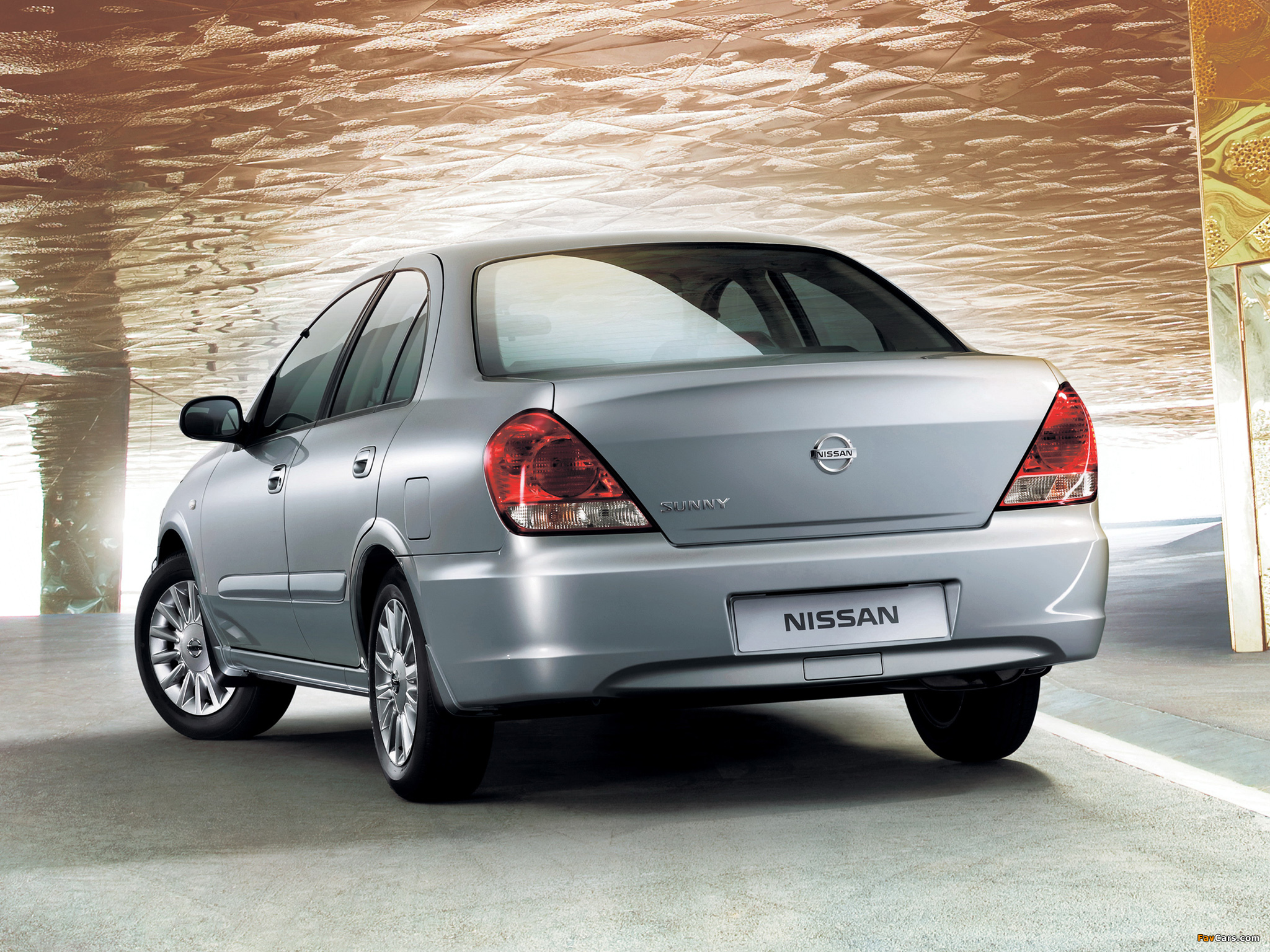 Nissan Sunny (N16) photos (2048 x 1536)