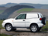 Nissan Terrano II Van UK-spec (R20) 1999–2006 photos