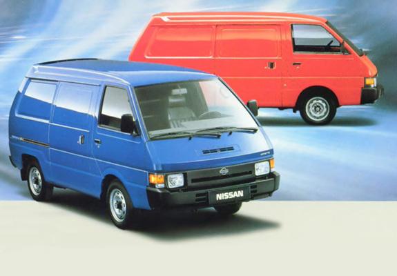 Photos Of Nissan Vanette Panel Van Eu Spec C22 1986 94
