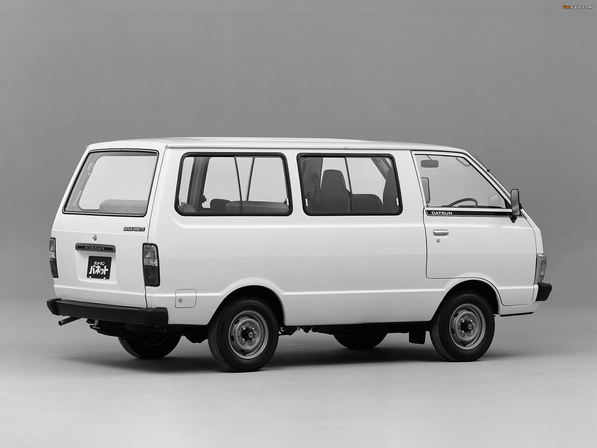 Wallpapers Of Nissan Datsun Vanette Coach C120 1980 85