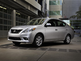 Images of Nissan Versa Sedan (B17) 2011