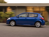 Nissan Versa Hatchback 2009 wallpapers