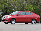 Nissan Versa Sedan BR-spec (B17) 2011 wallpapers