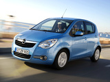 Opel Agila (B) 2008 wallpapers