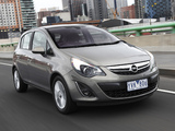 Opel Corsa 5-door AU-spec (D) 2012–13 photos