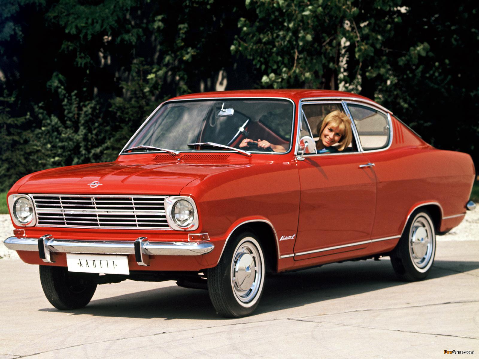 Opel Kadett Coupe (B) 1965–70 photos (1600×1200)