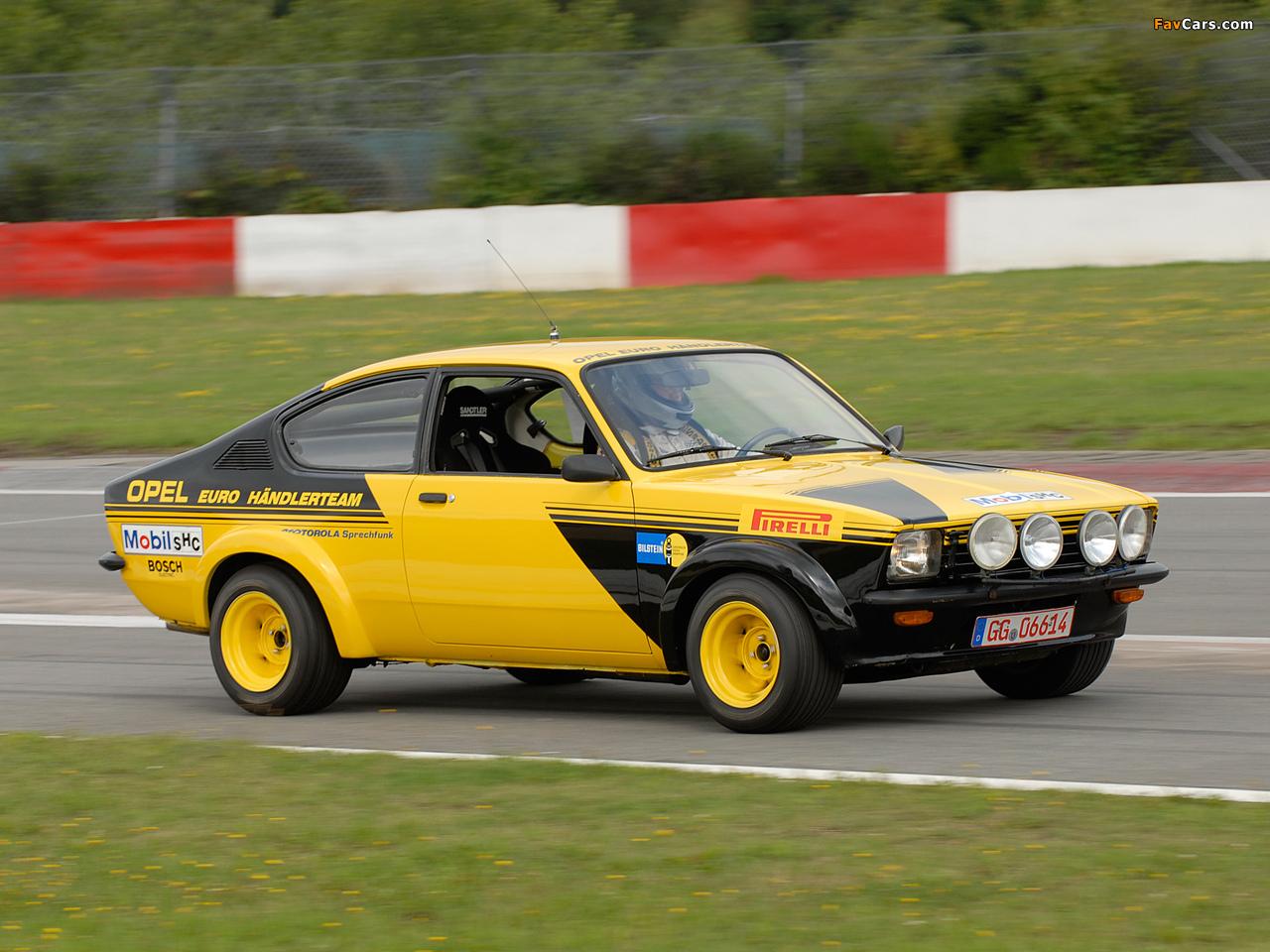E Car >> Wallpapers of Opel Kadett GT/E Rallye Car () 1976–77 ...