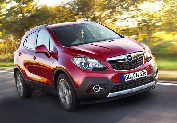 wallpapers of opel mokka turbo 4x4 2012. Black Bedroom Furniture Sets. Home Design Ideas