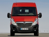 Opel Movano Van 2010 wallpapers
