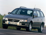 Pictures of Opel Omega Caravan (B) 1994–99