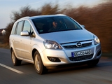 Photos of Opel Zafira ecoFLEX (B) 2009