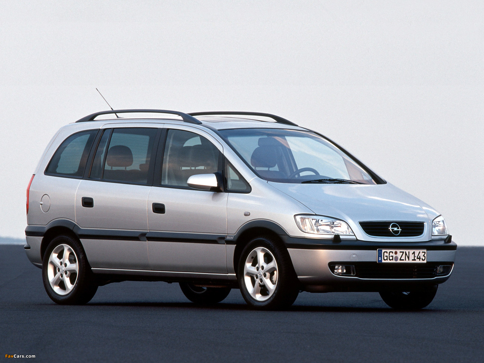Pictures Opel Zafira