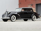 Packard Twelve All-Weather Cabriolet by Rollston (1607-494) 1938 photos