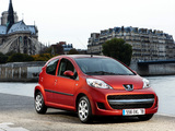 Peugeot 107 5-door 2008–12 images