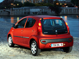 Pictures of Peugeot 107 5-door 2008–12