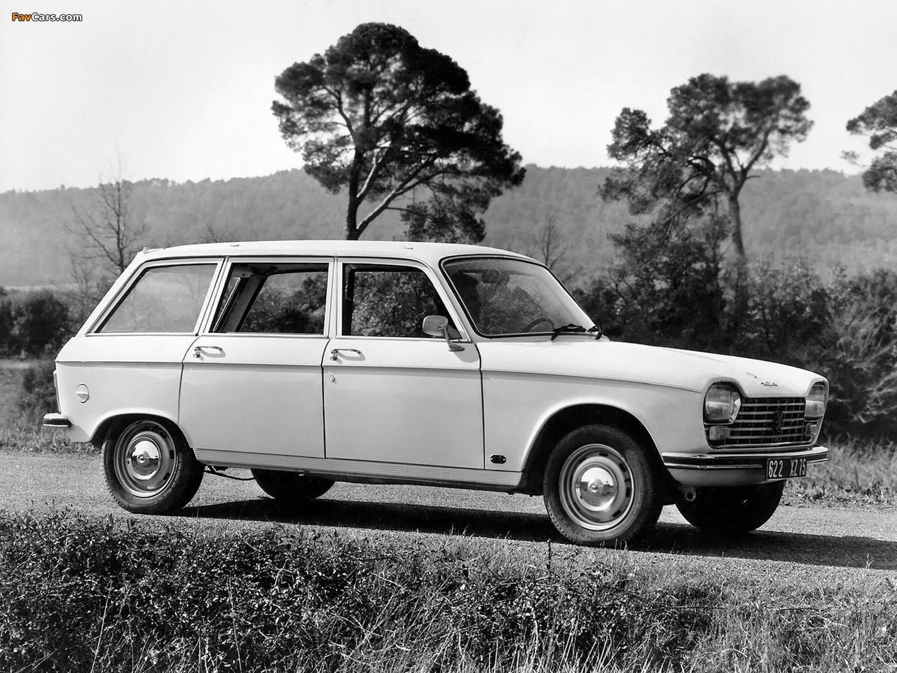 Peugeot 204 Break 1966–76 wallpapers (1280x960)  Brak