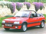 Peugeot 205 CTI UK-spec 1991–93 photos